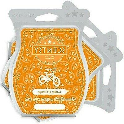 scentsy oodles of orange wickless candle tart