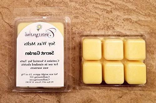 secret garden scented soy wax