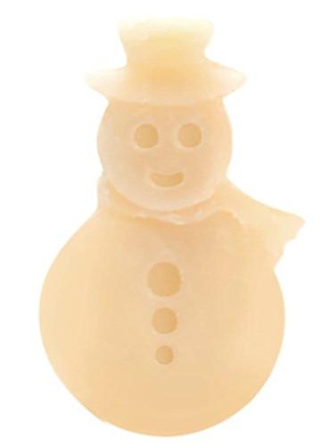 Happy Wax 3.6 Oz Tin - S'Mores Snowman Wax Melts Melts with Oils Fun, Holiday Shapes The Perfect Gift!