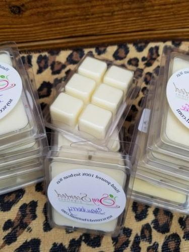 SOY WAX TART MELTS/CLAMSHELL**50 SCENTS**BUY GET 1 FREE**SALE TILL