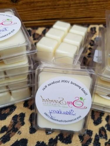 soy wax tart melts clamshell 50 scents