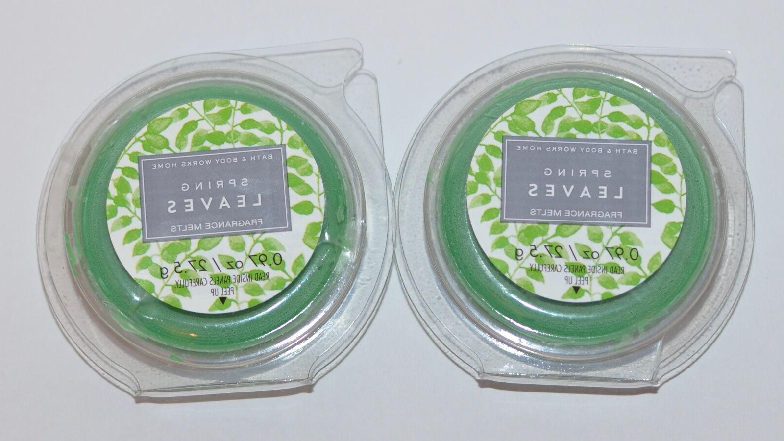 LOT & BODY WORKS LEAVES WAX WHITE BARN REFILL