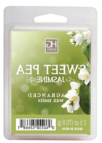 sweet pea jasmine scented wax