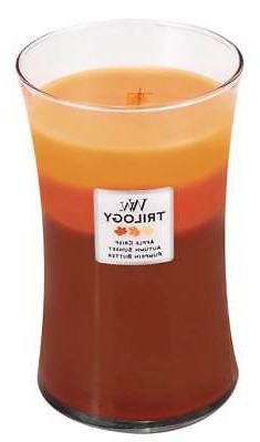 WoodWick Trilogy 22 Oz. Candle - Autumn Comforts
