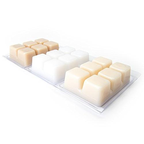 Vanilla Highly Scented Melts Variety Pack Vanilla Vanilla Maple to Candle or Scentsy