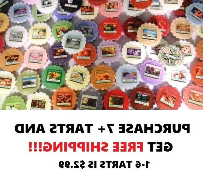 ☆☆YANKEE CANDLE WAX MELT TART SINGLES☆☆MUST BUY 7 OR