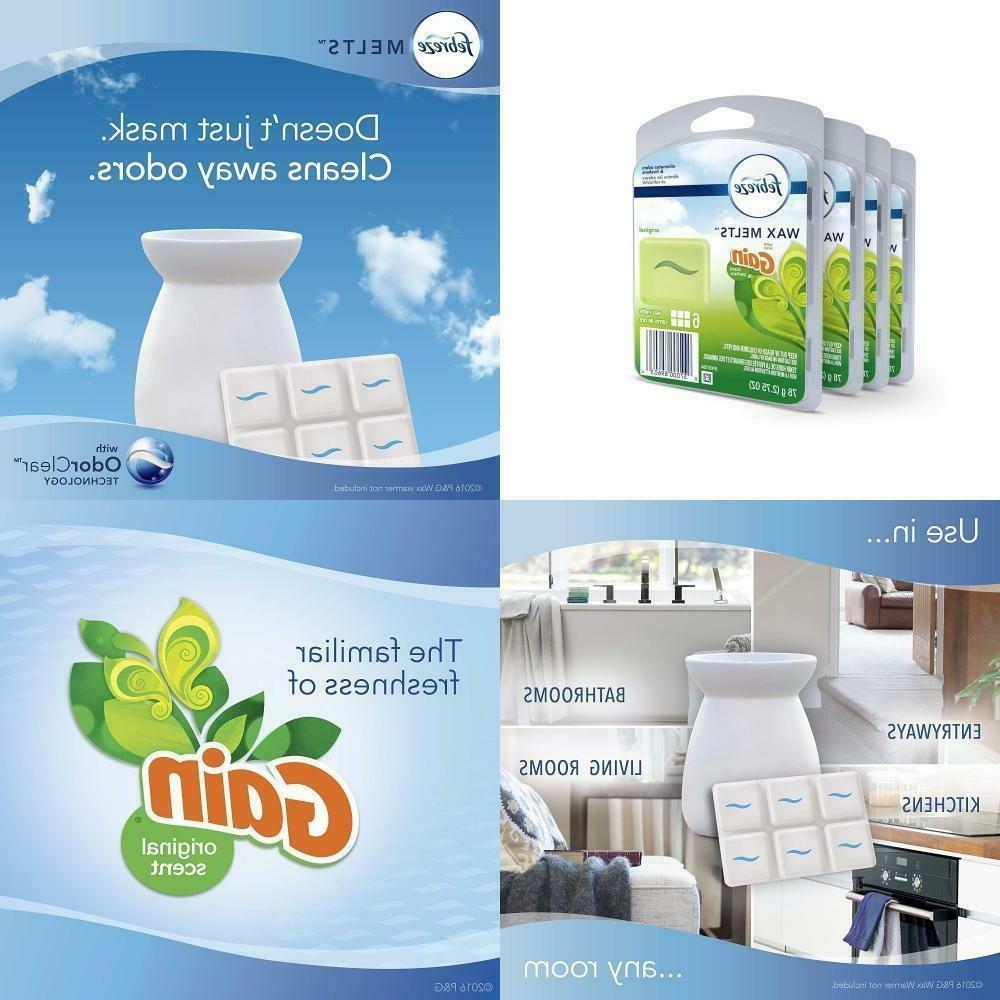 wax melts air freshener gain original scent