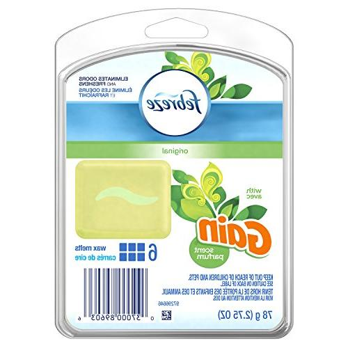 wax melts air freshener with gain original