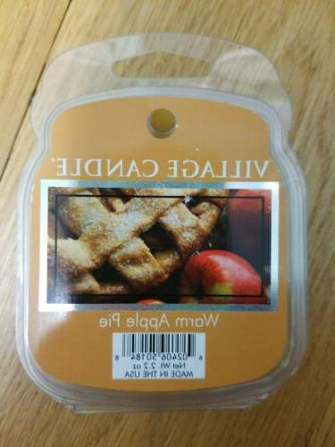 VILLAGE wax melts WARM APPLE PIE packages holiday