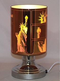 EcoScents Lady Liberty Aroma Lamp, Silver