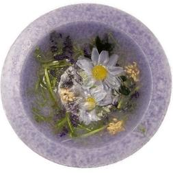 Lavender Chamomile Wax Pottery Vessel Flameless Bowl Habersh