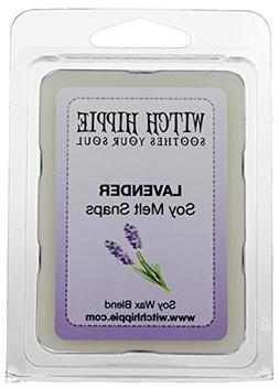 Lavender Scented Wickless Candle Tarts, 6 Natural Soy Wax Cu