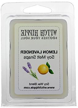 Lemon Lavender Scented Wickless Candle Tarts, 6 Natural Soy