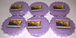 Yankee Candle Lot of 6 Lemon Lavender Tarts Wax Melts