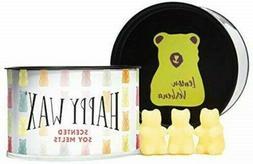 Happy Wax Lemon Verbena Soy Wax Candle Melts Classic Tin Sme