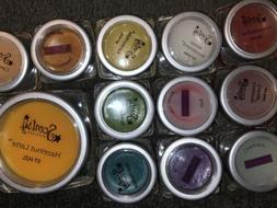 SCENTSY Lot of  12 Mixed Assorted MINI TESTERS Samples Wax M