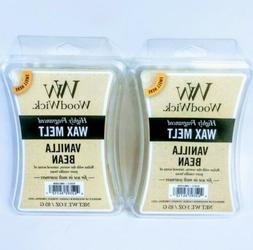 Lot of 2 WOODWICK Wax Melts Vanilla Bean Scented Highly Frag