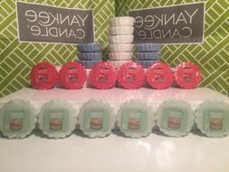 Lot of 6 YANKEE CANDLE Tarts Wax Melts ~ You Choose Scent ~