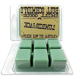 Bull Schmidt's Lumberjack 6.4 oz Scented Wax Melts - A morni