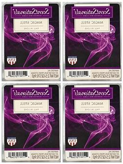 ScentSationals Magic Spell Scented Wax Cubes - 4-Pack