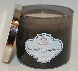 Bath & Body Works Mahogany Teakwood 3-Wick Scented Candle
