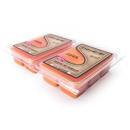 Mango & Papaya Wax Melts 2 Pack - Highly Scented - Similar t
