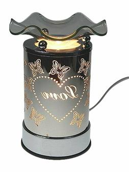 Metal Electric Oil Warmer Tart Burner Scent Cubes Wax Melts