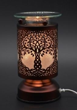 Metal Electric Touch Aroma Lamp Oil Warmer Tart Wax Melts Bu