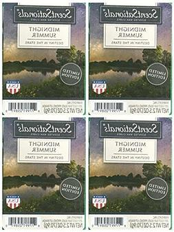 ScentSationals Midnight Summer Scented Wax Cubes - 4-Pack