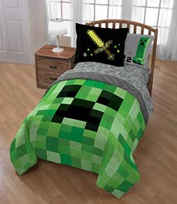 Minecraft Builders Boys Full Comforter & Sheets W  + HOMEMAD