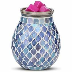 Mocosa Handcrafted Mosaic Glass Electric Wax Melt Warmer Bur