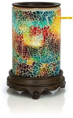 Vp Home Mosaic Glass Fragrance Warmer