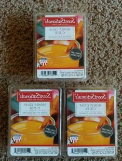 New 3 Scentsationals Scented Wax Cubes Melts Honey Crisp Cid