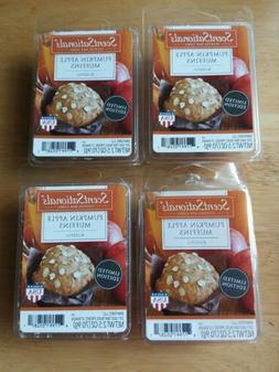 New Lot of 4 ScentSationals Pumpkin Apple Muffins Fragrance