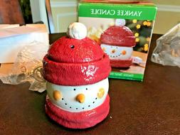 New Yankee Candle Snowman Electric Tarts Wax Melts Warmer