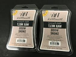 New WOODWICK Wax Melts Wood Smoke Scented, 3 Oz Each, Set Of