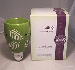 "Scentsy Nightlight Warmer, ""Grotto"", Green Fern Plug-in Warm"