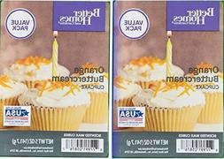 Better Homes and Gardens Orange Buttercream Cupcake Wax Cube