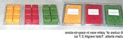 Palm Wax Melts - Wax Cubes - Warmer Tarts - 2.7 oz