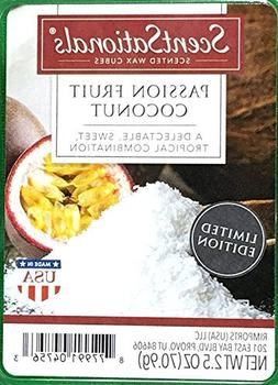 ScentSationals Passion Fruit Coconut Wax Cubes