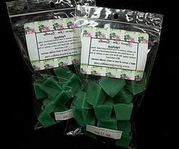 patchouli herbal botanical scented soy paraffin tart