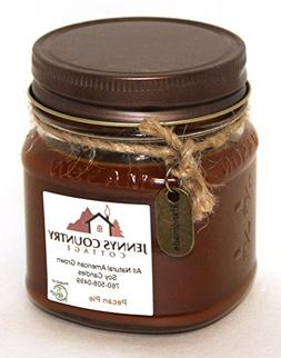 Pecan Pie Scented Soy Candle - 8 Oz. Mason Jar
