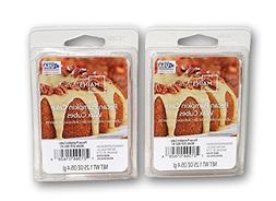 2 Pack Pecan Pumpkin Cake Scented Wax Cubes