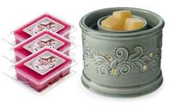 Perennial Fan Fragrance Warmer Gift Set with 3 Courtneys Wax
