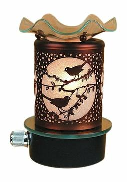 Plug in No Cord Oil Wax Melts Warmer Burner Night Light Bird