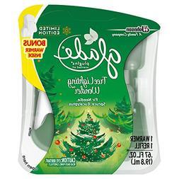 Glade PlugIns Scented Oil Air Freshener Starter Kit, Tree Li