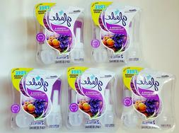Glade PlugIns Scented Oil Air Freshener Refill, Lavender & P