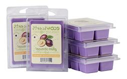 EcoScents Plum Streusel Wax Melts , Purple