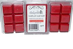 Bible Verse Candles 3 Pack Pomegranate Wax Melt 9oz Wax Cube