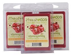 EcoScents Pomegranate Wax Melts , Red